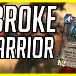 (Hearthstone) I Kinda Broke Warrior | Control Warrior | (Ashes of Outland)