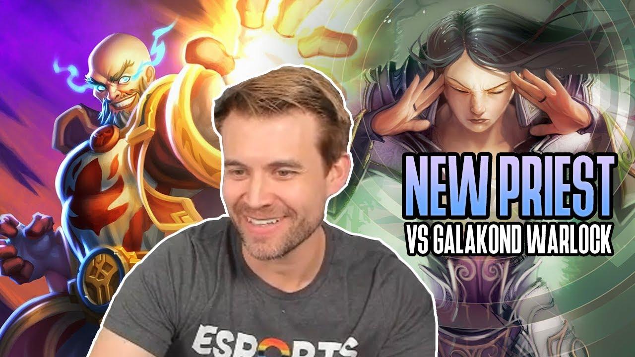 (Hearthstone) New Priest VS Galakrond Warlock
