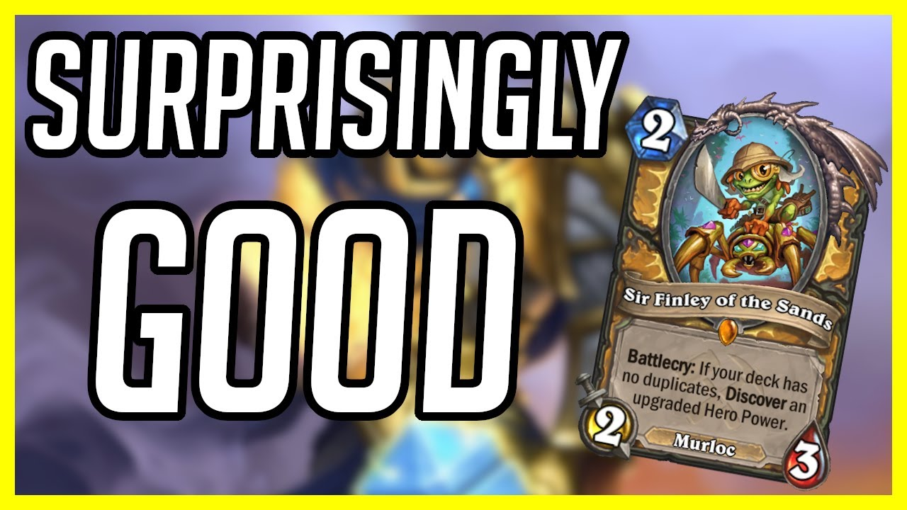 (Hearthstone) This Deck was Surprisingly Good | Highlander Libram Paladin | Ashes of Outland