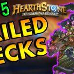 Hearthstone Top 5: Failed Deck Archetypes