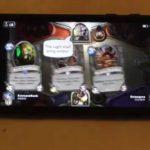 Hearthstone on iPhone 6 - Gameplay