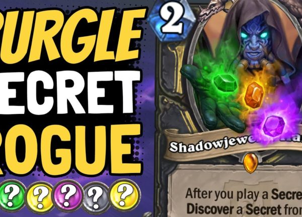 INFINITE SECRET ROGUE?! Absolute Madness With Shadowjeweler Thanos! | Ashes of Outland | Hearthstone