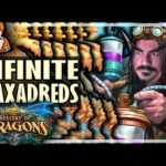 INFINITE WAXADREDS?! - Hearthstone Descent of Dragons