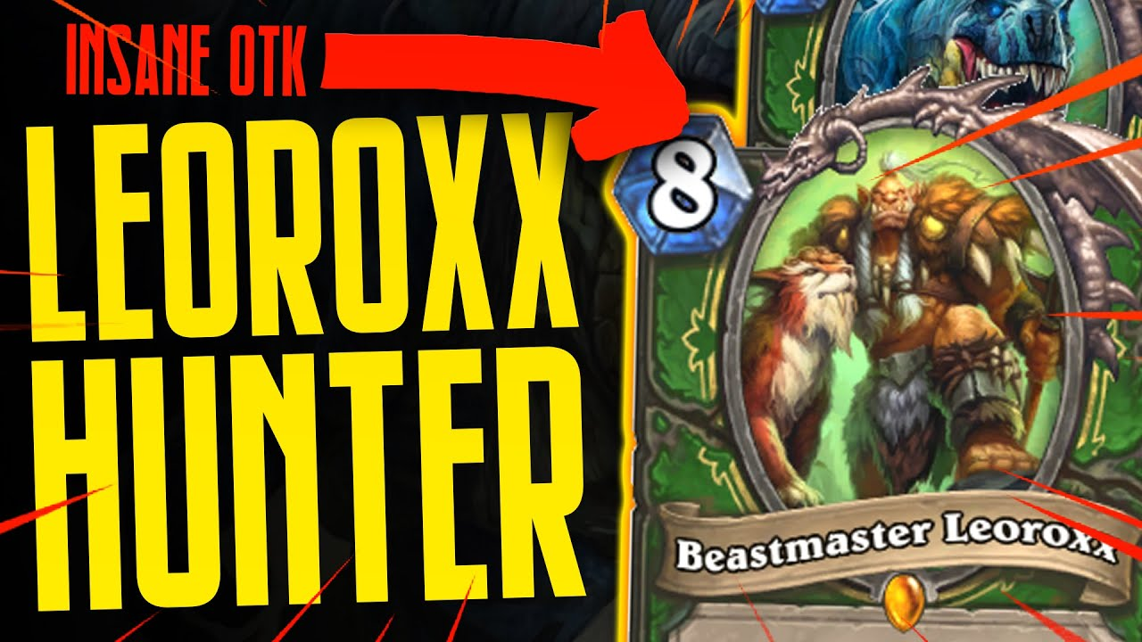 INSANE OTK LEOROXX HUNTER!!! - 30+ Damage Combo - Ashes of Outland - Hearthstone