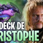 LE DECK DE CHRISTOPHE