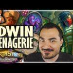 MENAGERIE EDWIN IS ABSURD! - Hearthstone Battlegrounds