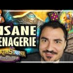 MENAGERIE IS INSANE = CURATOR IS BACK! - Hearthstone Battlegrounds