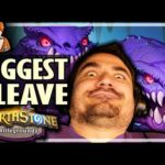 MY BIGGEST CLEAVE EVER! - Hearthstone Battlegrounds