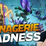 Making MENAGERIE MADNESS PLAYS! | Hearthstone Battlegrounds } Savjz