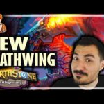 NEW DEATHWING HERO IS THE MOST OP?! - Hearthstone Battlegrounds