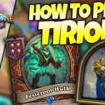 [NEW HERO] How to Build Tirion in Battlegrounds | Firebat Hearthstone