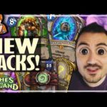 NEW PACK OPENING RULES! - Ashes of Outland Hearthstone