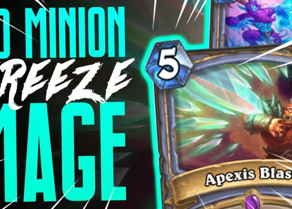 No Minion Mage ACTUALLY WORKS! - Ashes of Outland - Hearthstone