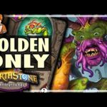 ONLY GOLDEN MURLOCS - Hearthstone Battlegrounds