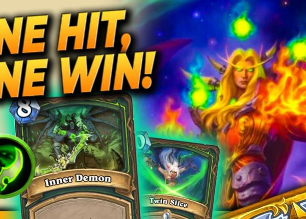 One hit, one WIN! 😱 - OTK Kael Demon Hunter - Hearthstone Deck (Ashes of Outlands)