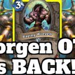 Raging Worgen Warrior OTK is BACK! Maiev Shadowsong Combo | Hearthstone
