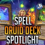 SPELL DRUID DECK SPOTLIGHT | Tempo Storm Hearthstone [Ashes of Outland]