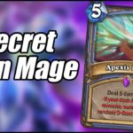 Secret Burn Mage | Ashes of Outland | Hearthstone
