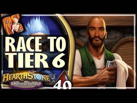 TAVERN 6 ROUND 8 = META?! - Hearthstone Battlegrounds