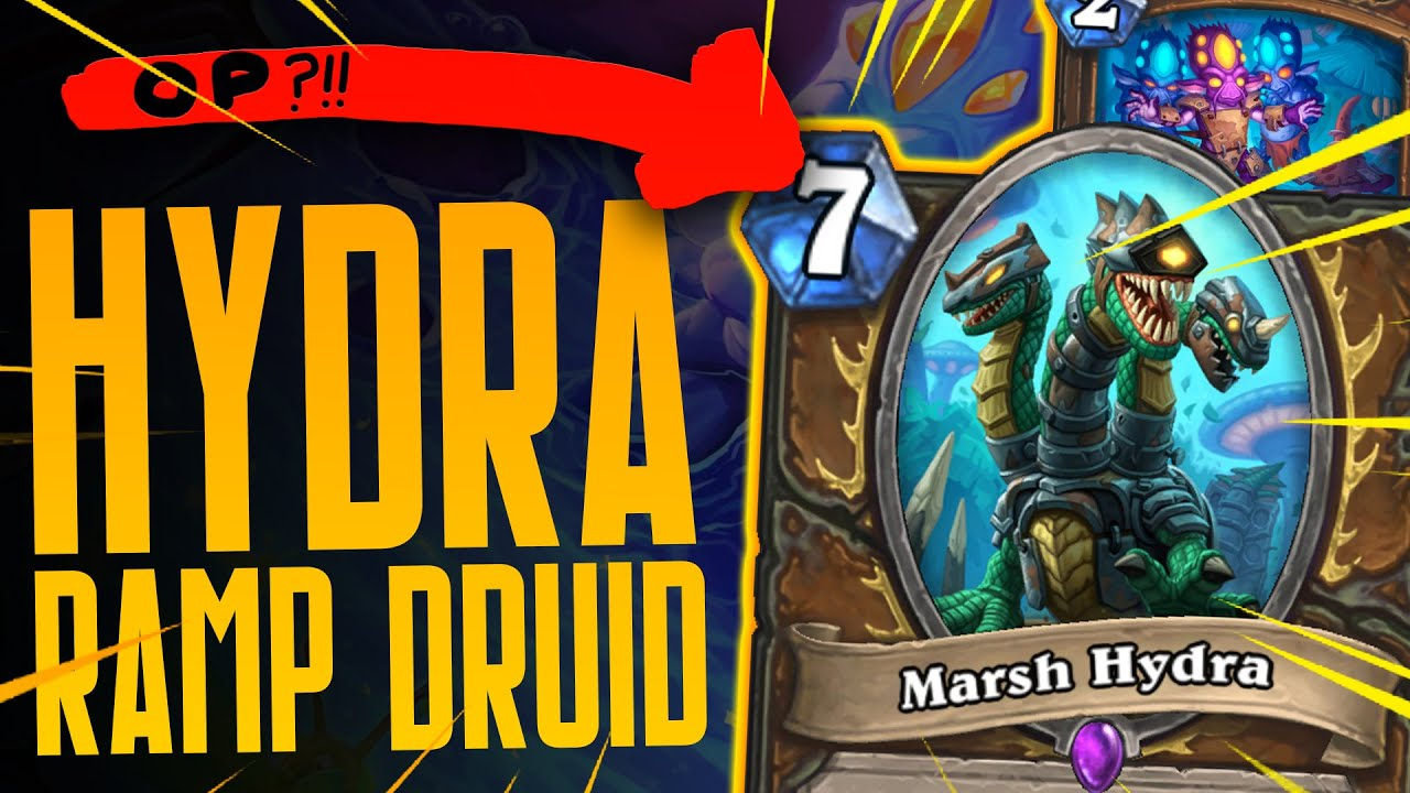 THE BEST DRUID DECK?! Overgrowth is INSANE! - Ashes of Outland - Hearthstone
