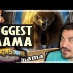 THE BIGGEST MAMA EVER?! - Hearthstone Battlegrounds