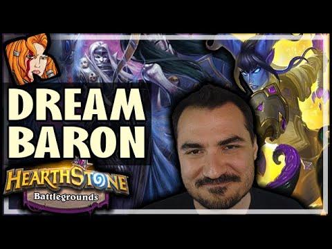 THE DREAM BARON BUILD! - Hearthstone Battlegrounds