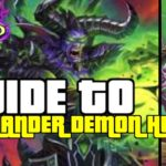 THIS DECK SEEMS INSANE!  | GUIDE TO HIGHLANDER DEMON HUNTER | ASHES OF OUTLANDS | HEARTHSTONE