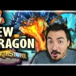 THIS NEW DRAGON WINS INSTANTLY! - Hearthstone Battlegrounds