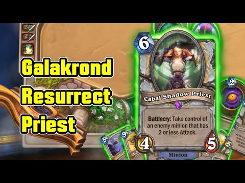 TOP 1 Deck | Galakrond Resurrect Priest vs Quest Druid | Hearthstone Daily Ep.10