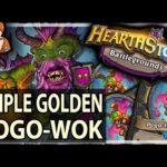 TRIPLE GOLDEN-POGO-WOK! - Hearthstone Battlegrounds