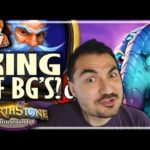 TURNS OUT MILLHOUSE IS A BIT TOO GOOD! - Hearthstone Battlegrounds