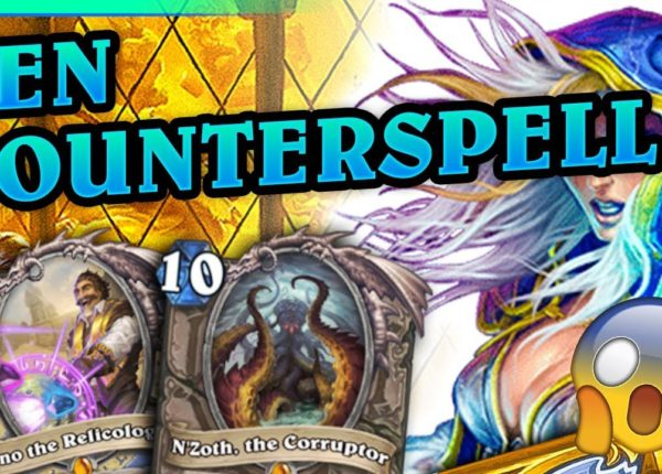 Ten COUNTERSPELL - N'Zoth Highlander Mage #5 by APXVoid - Hearthstone Deck (Doom in the Tomb)