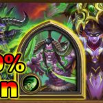 This Demon Hunter Deck Has 100% Win?   This Is Why Is Getting Nerfed   Ashes of Outland Hearthstone