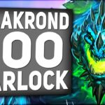 This GALAKROND ZOO Warlock is DESTROYING The Ladder!   Descent of Dragons   Hearthstone