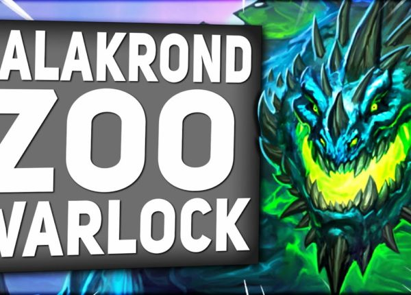 This GALAKROND ZOO Warlock is DESTROYING The Ladder! | Descent of Dragons | Hearthstone