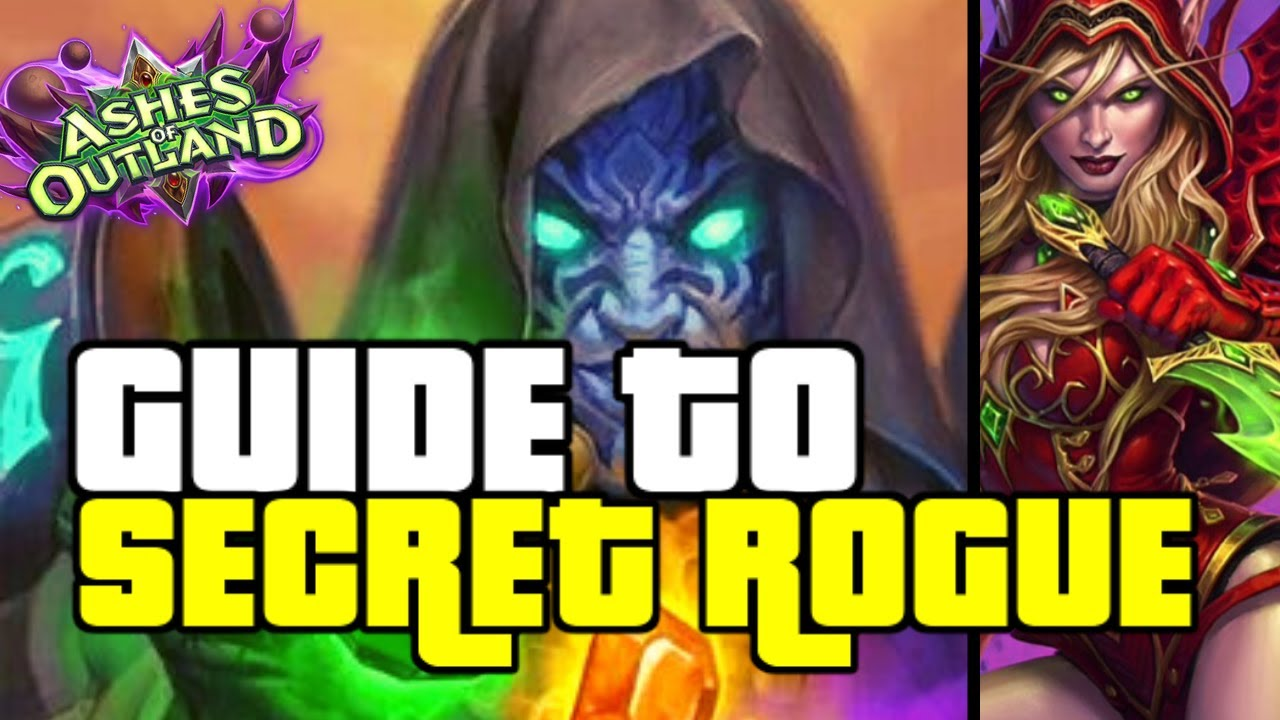 100% WINRATE SECRET GALAKROND ROGUE IS OP   GUIDE TO SECRET ROGUE   ASHES OF OUTLANDS   HEARTHSTONE