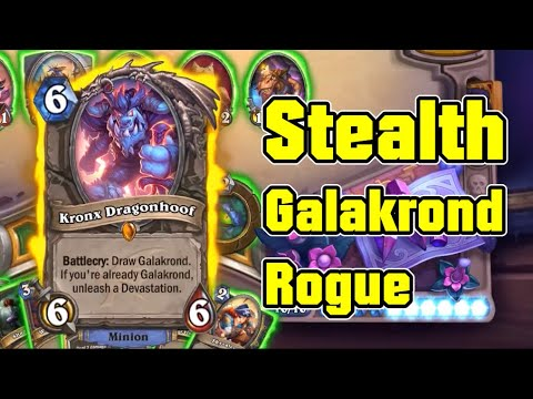 TOP 1 Deck | Stealth Galakrond Rogue vs Galakrond Priest / Spell Druid | Hearthstone Daily Ep.115
