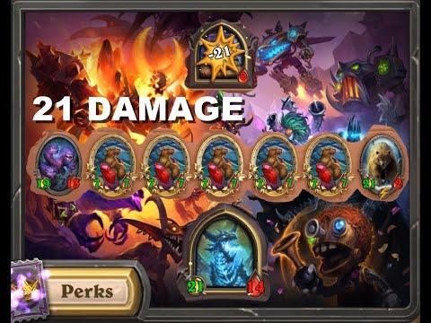 21 damage win | Heartstone Battlegrounds | One shoot kill