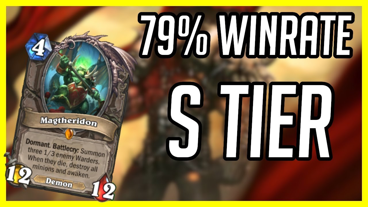 79% Winrate Deck S Tier | Hearthstone | Control Warrior | Ashes of Outland