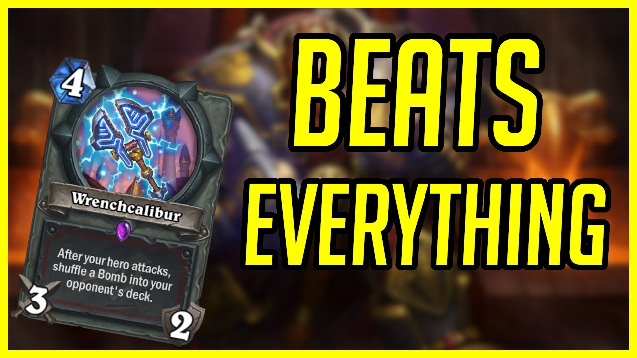 80% Winrate Deck Beats Everything | Bomb Warrior | Ashes of Outland