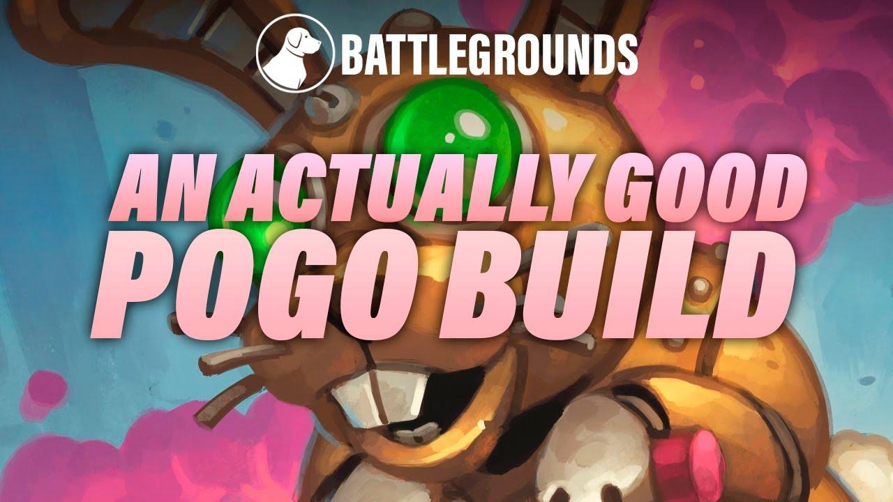 An Actually Good Pogo Build This Time   Dogdog Hearthstone Battlegrounds