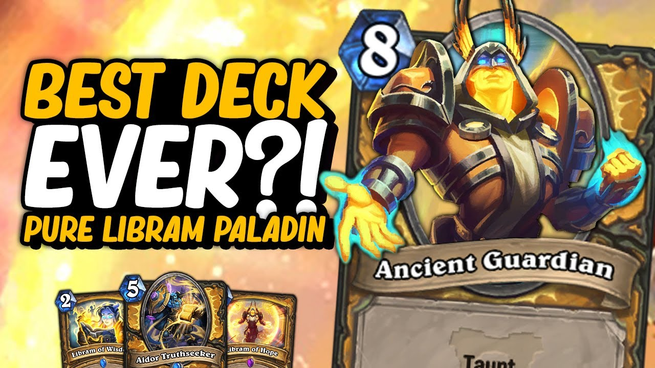 BEST DECK EVER?! - Pure Libram Paladin   Hearthstone   Ashes of Outland