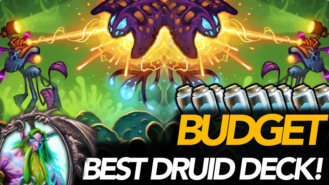 Best Budget Druid Deck!   SPELL Druid   Ashes Of Outland   Hearthstone