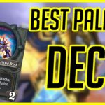 Best Paladin Deck | Hearthstone | Murloc Paladin | Ashes of Outland