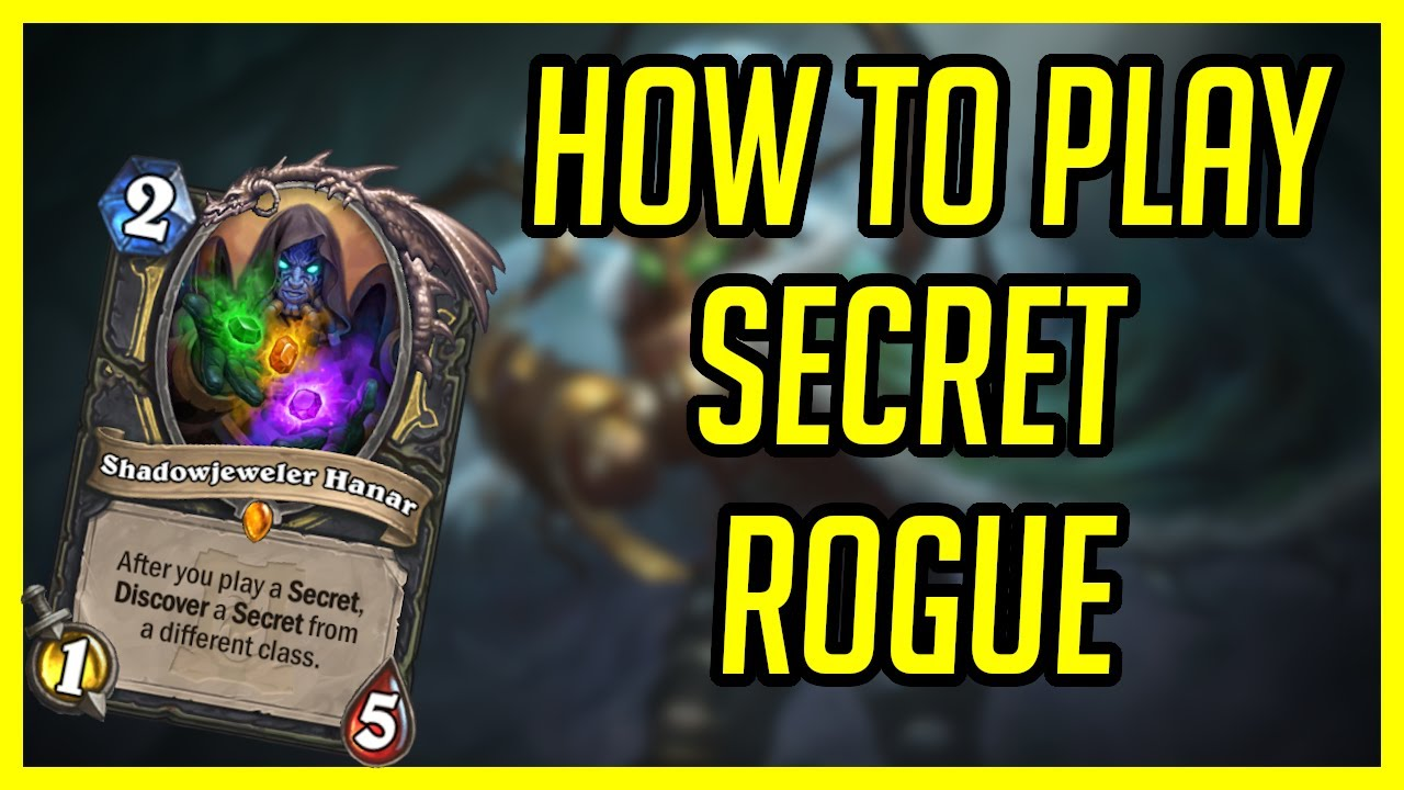 Best Rogue Deck in the Game   Hearthstone   Secret Galakrond Rogue   Ashes of Outland