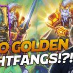 DOUBLE GOLDEN LIGHTFANG DOMINATION! | Hearthstone Battlegrounds | Savjz
