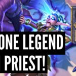 Day ONE Legend with Galakrond Priest | Ashes of Outland | Hearthstone