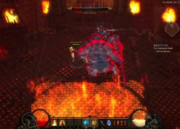 Diablo 3 | 2 Monks 1 Butcher [Boss Battle]