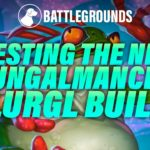 Dog Testing Out the New Fungalmancer Flurgl Build | Dogdog Hearthstone Battlegrounds