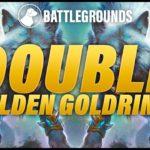 Double Golden Goldrinn | Dogdog Hearthstone Battlegrounds